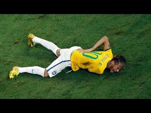 Injured Neymar Ruled Out Of World Cup - TOI
