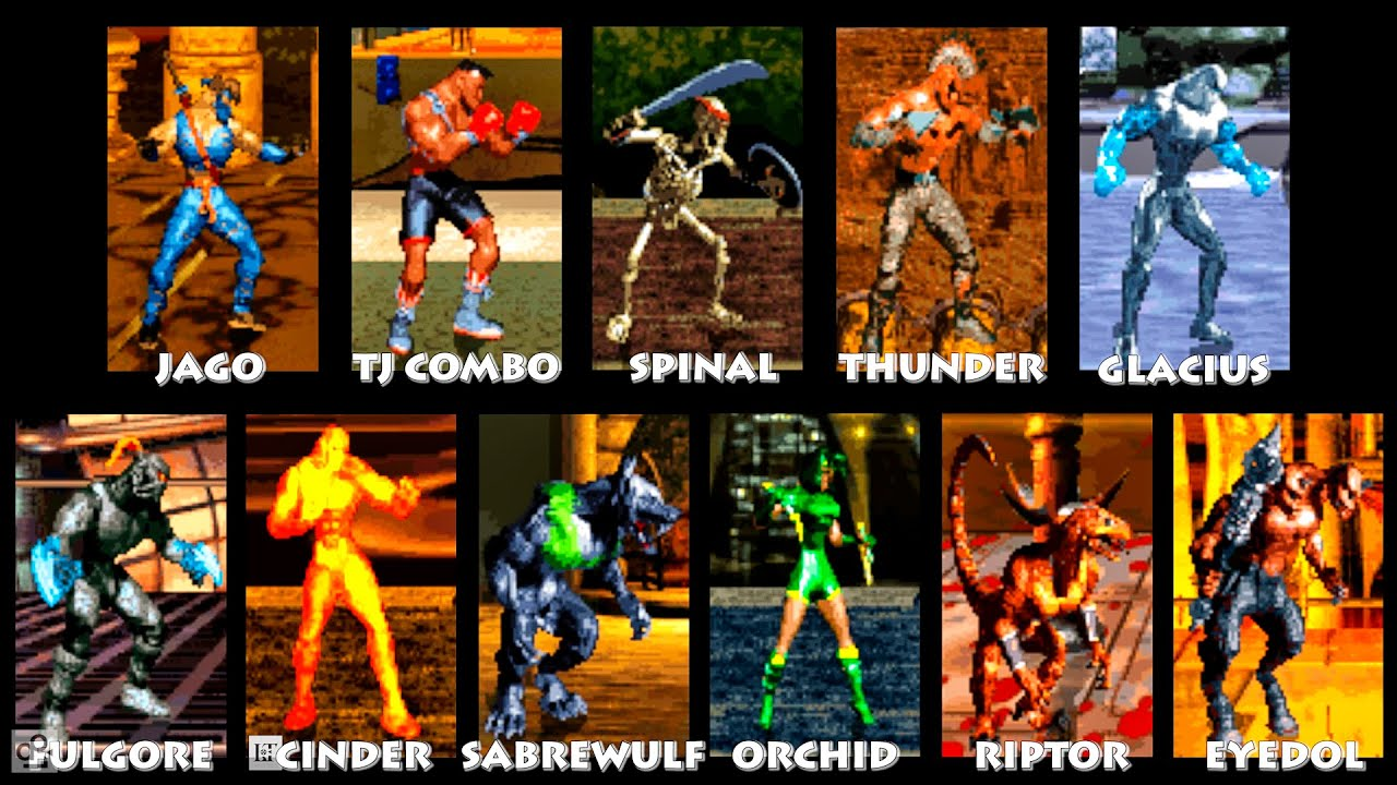 Image result for killer instinct roster