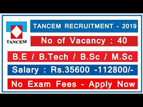 Tamilnadu Government job   TANCEM Recruitment 2019 I Degree Job I Tamilnadu Jobs