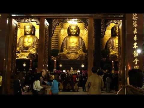 Kaohsiung 高雄 Fo Guang Shan 佛光山 - 晚禱 (12) ( Taiwan )