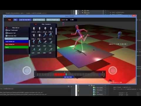 Basic Skeletal Animation Game Editor Demo
