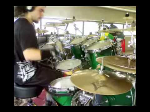 wolf - iced earth + bloopers and making of...  redrummer