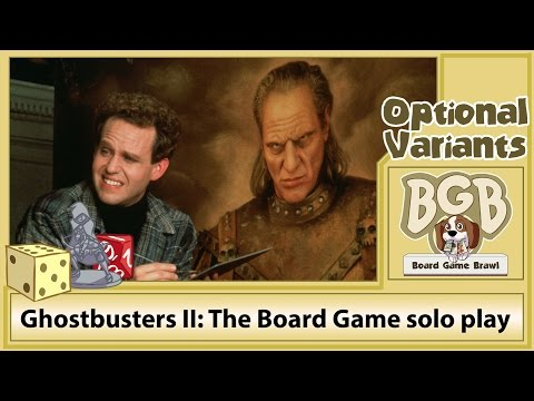 BGB Live: Ghostbusters II: The Board Game solo play (Part 1)
