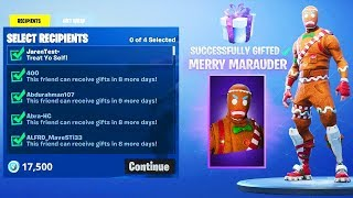 FINALLY.. New GIFTING SKINS in Fortnite!
