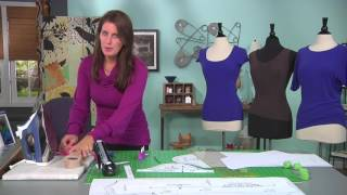 Sew a perfect t-shirt on It's Sew Easy with Angel Wolf (1305-1)