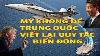 """Tin thế giới 17/10/2018 - Mỹ QUYẾT TÂM không để Trung Quốc viết lại """"Quy tắc biển Đông"""""""