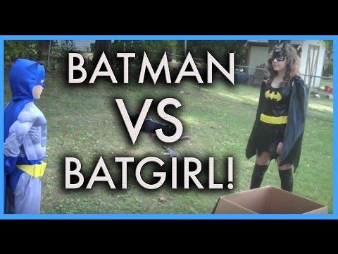BATMAN VS. BATGIRL - THE MOVIE