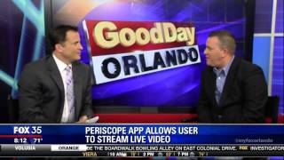 Up Periscope! New Social Media Live Video Stream Makes Headlines.