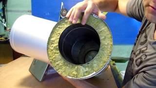 як зробити димохідну трубу