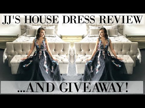 JJ'S HOUSE DRESS REVIEW & SNEAKY GIVEAWAY!