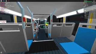 Roblox MBTA Test bus ride