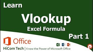 Learn VLOOKUP Excel Function Part 1 in Tamil