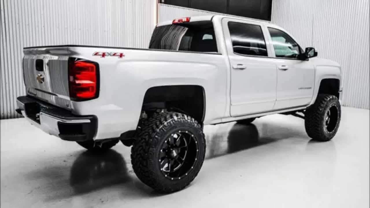 Used 2015 Chevrolet Silverado 1500 Lt Crew Lifted Truck