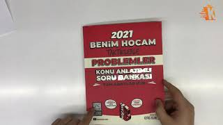 Benim Hocam Yayınları Tüm Adaylar Taktiklerle Problemler Konu Anlatımlı Soru Bankası - İlyas Güneş
