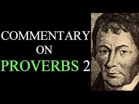 Commentary on Proverbs 2 - George Lawson