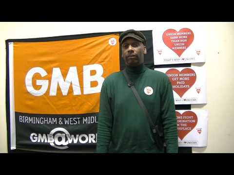 Andrew Williams - GMB Union Representative