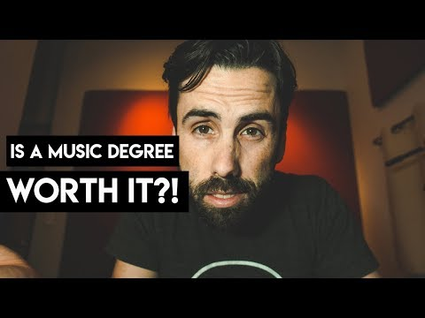 Is A Music Degree Worth It? - Deciding How To Further Your Music Education.