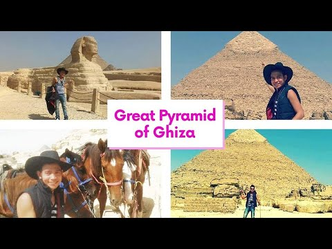 EGYPT Great Pyramid & Sphinx in Ghiza Travel Adventure