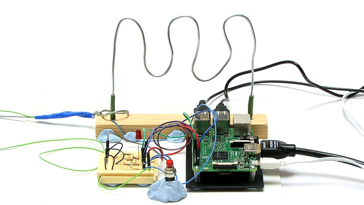 raspberry pi wire loop game [ 1280 x 720 Pixel ]