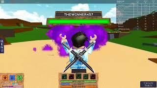 Roblox:Elemental Battlegrounds TheWinner457