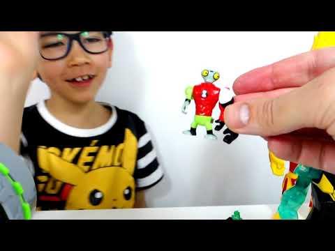 Игрушки БЕН 10 СЮРПРИЗЫ - коллекция Бен Тен игрушки и часы Омнитрикс из мультика BEN 10 TEN