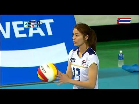 ไทย-ญี่ปุ่น: set 2 :วอลเลย์บอลหญิงเอเชี่ยนเกมส์ 2014: 21.9.2014