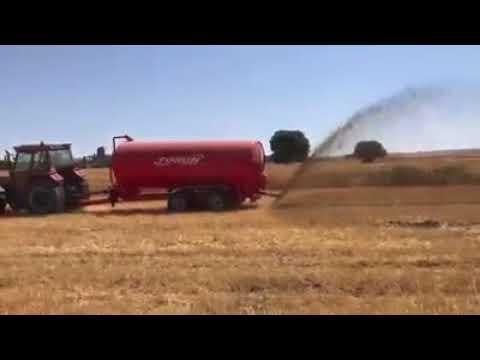 6 Ton Sıvı Gübre Tankeri