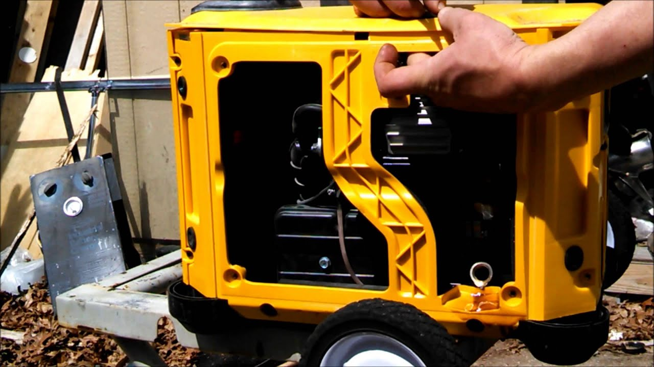 Champion 2000w Inverter Generator Maintenance-How to