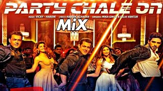 Party Chale On Song Video - Race 3 | Salman Khan | Mix MP3