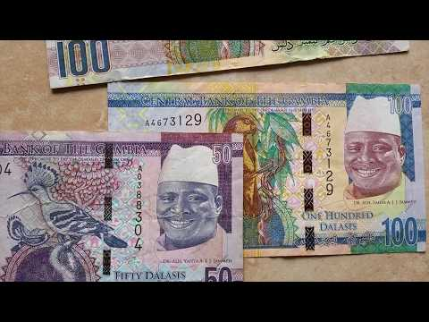 #Currency special part 77: The Gambian Dalasi