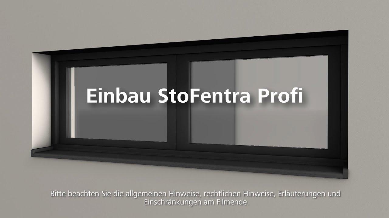 Fensterbank StoFentra Profi einbauen - Wärmedämmung- / WDVS ...