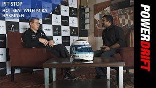 Hot Seat With Mika Hakkinen : Pit Stop : PowerDrift
