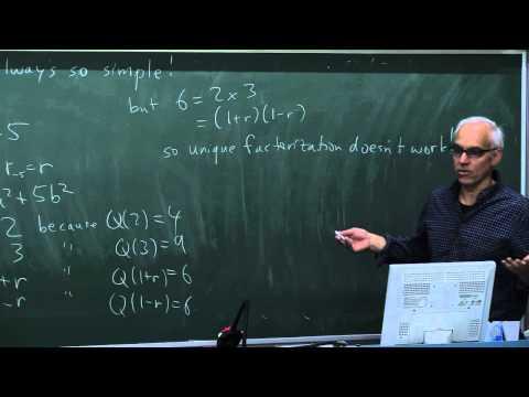 MathHistory22b: Algebraic number theory and rings II
