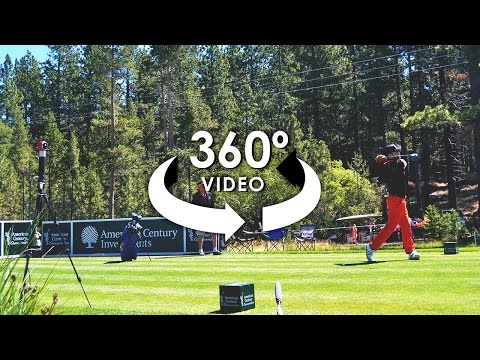 360° Video of Celebrities Playing at American Century Celebrity Golf Championship