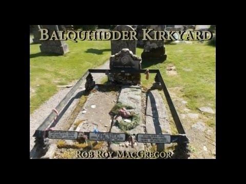 Spirits: Balquhidder Kirkyard at Rob Roys MacGregors Grave