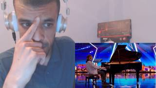 reaction tokio myers tinkles the ivories with an edgy twist   britain s got talent 2017