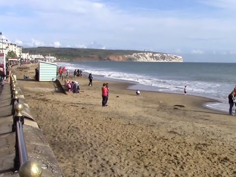 Isle Of Wight - Sandown And Cliff Top Walk To Shanklin - Oct 2015