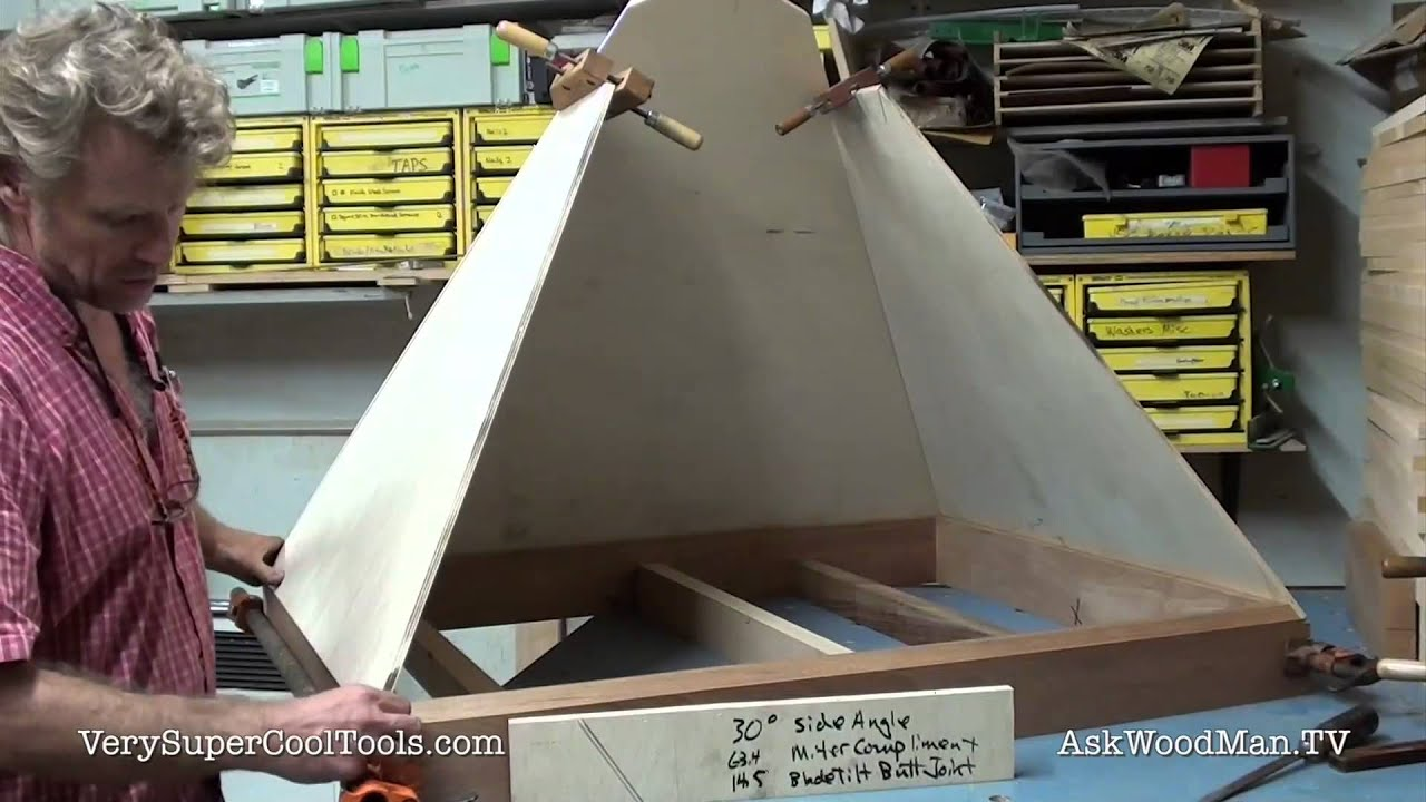 790  Compound Angles For Trapezoids  U2022 Table Saw Work