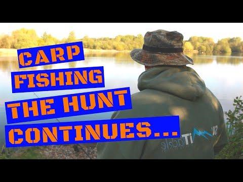 CARP FISHING IN SPRING THE HUNT CONTINUES
