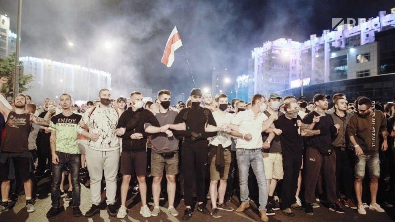 Стрельба в Белоруссии Расстреливают Демонстрантов. Бойня.