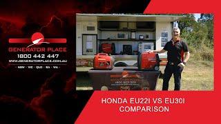 Honda EU22i vs EU30i Comparison