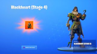 "FORTNITE SEASON 8 BLACKHEART ""STAGE 4"" UNLOCKED! FORTNITE SEASON 8 MAX STYLES UNLOCKED! NEW BALLER"
