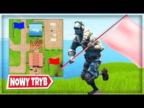 """NOWY TRYB """"🚩 ZDOBĄDŹ FLAGĘ"""" TRYB PLAC ZABAW - Fortnite Battle Royale"""