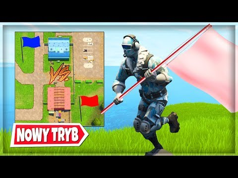 NOWY TRYB '🚩 ZDOBĄDŹ FLAGĘ' TRYB PLAC ZABAW - Fortnite Battle Royale