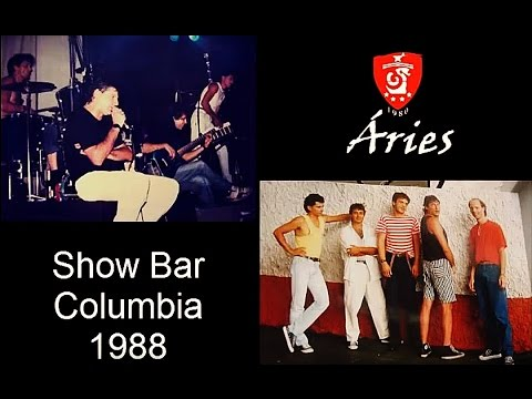 "Banda Aries Show no ""Bar Columbia 1988"""