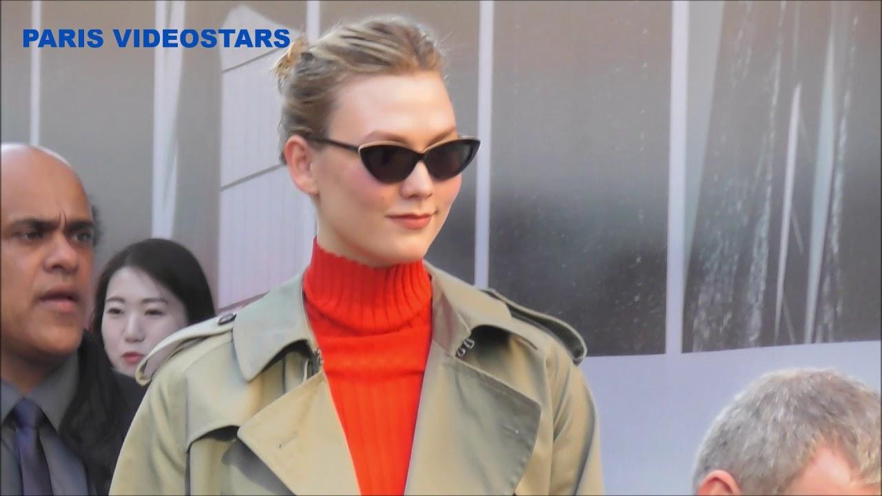 Paris Fashion Week Day 1 Karlie Kloss Going To Dior Headquarter 25