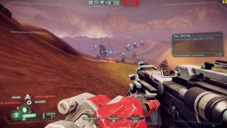 Tribes Ascend gameplay