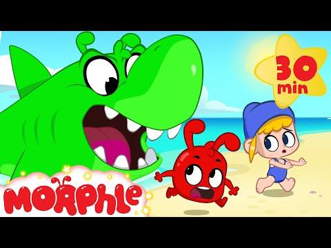 Orphle the Scary Shark - Morphle vs Orphle   Cartoons for Kids   Morphle TV