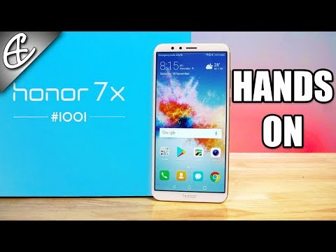 Huawei Honor 7X Unboxing & Hands On! thumbnail