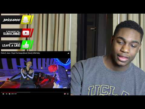 fredoFredo ft. Asco - Playin' For Keeps [Music Video]   GRM Daily l AMERICAN REACTION!!!